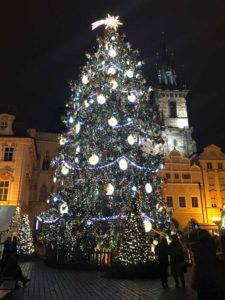 Prague - Old Town Square at Christmas time